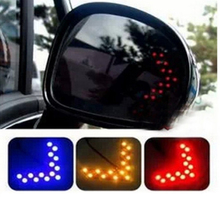 Fashion Car Accessories Turn Signal Arrows Light Side Mirror Led Guide Light 4 Colors CAR-0192