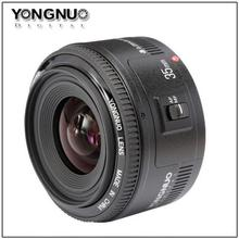 YONGNUO YN 35mm F2 Lens Wide-Angle Fixed/Prime Auto Focus Lens For Canon EOS 60D 70D 5D2 5D3 7D2 750D 650D 6D DSLR(China (Mainland))