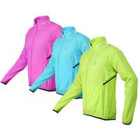 Открытый спортивной женщины леди ветрозащитной водонепроницаемой длинные Джерси синий зеленый розовый дождь пальто носить Светоотражающий жакет Велоспорт