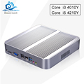 Cheapest Mini PC Barebone Computador TV Box core i3 4010Y Core i5 4210Y 1 9GHz 4K