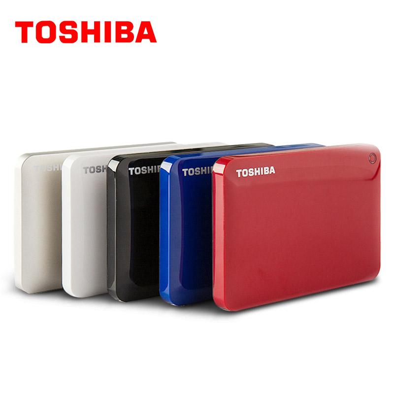"TOSHIBA 1TB External HDD 1000GB HD Portable Hard Drive Disk CANVIO V8 USB 3.0 SATA3 2.5"" HDTC810H 100% Original New(China (Mainland))"