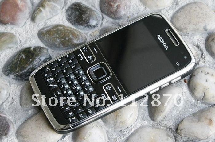 free shipping Original Nokia E72 Unlocked 3G WIFI GPS Mobile Phone Russian keyboard and language