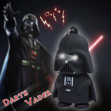 2015 New Star Wars Figures toy Black Knight Darth Vader Stormtrooper PVC Action Figures LED toys(China (Mainland))