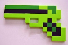 New 2015 Minecraft Toys Toys Sword Pick Axe Gun Minecraft Game Props Model Toys Kids Toys Birthday & Christmas Gifts 18-23 inch(China (Mainland))