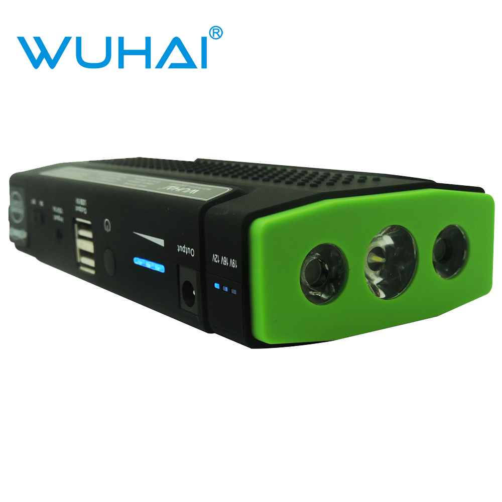 WUHAI Super Car Jump Starter Auto Engine EPS Emergency Start Battery Source Laptop Portable Charger Mobile Phone Power Bank(China (Mainland))