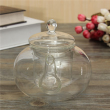 Hot Sale Useful 800ml Flower Coffee Glass Tea Pot Large Blooming Chinese Glass Teapots Heat Resistant