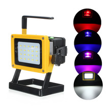 New 10W Rechargeable Cordless Portable 5630 SMD 20 LED Flood Spot Work Industrial Emerg ency Light Lamp Outdoor Camping Garden (China (Mainland))