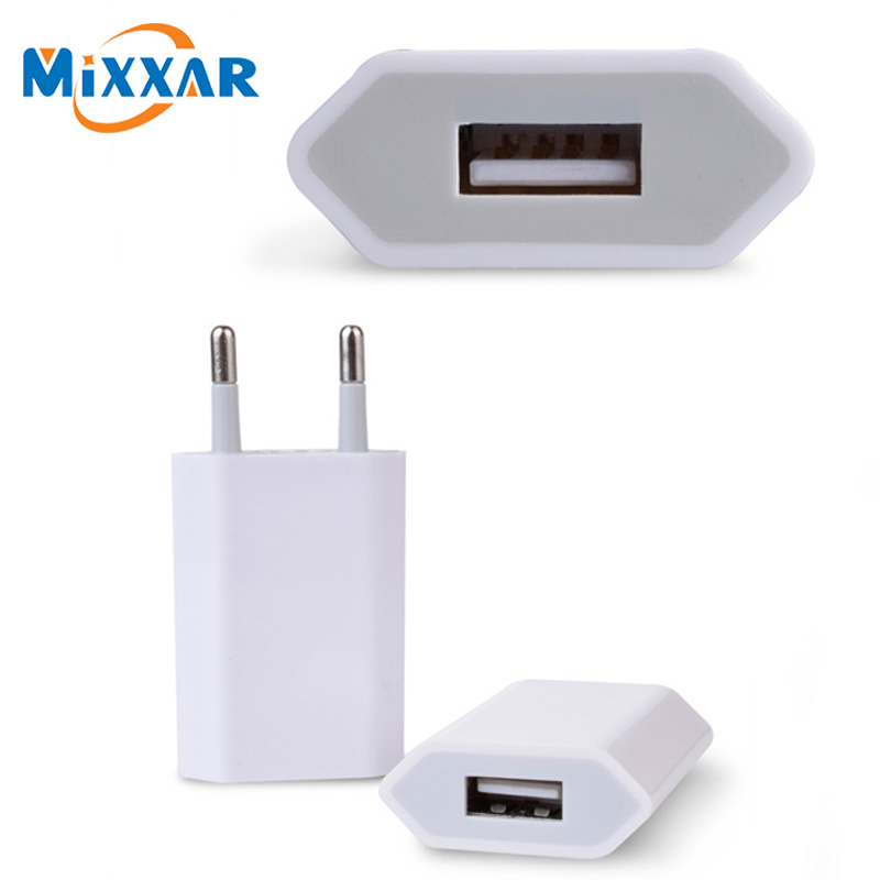 zk90 Mixxar USB Charger Adapter EU US Plug Travel Charger Wall Mobile Phone Charger for iPhone for Tablets Mobile Phones(China (Mainland))