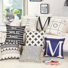 Creative geometric cushions throw pillows