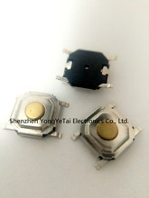 4*4*1.5 Tact Switch button/micro LCD SMD 4 feet waterproof copper head copper key(China (Mainland))