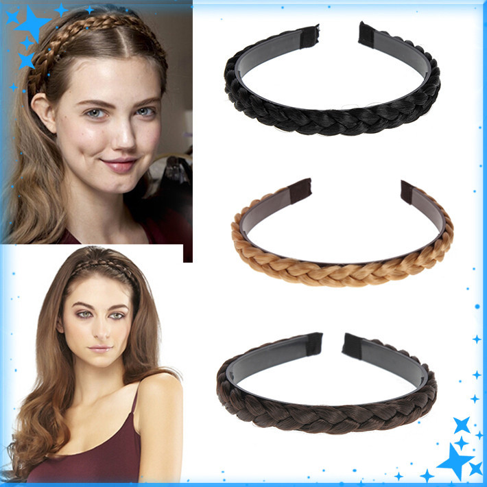 1PC Twisted wig Braid Hair Bands Hair Braids Headband Head Bands Headwear Headband For Women Hairbands Hair Accessories(China (Mainland))