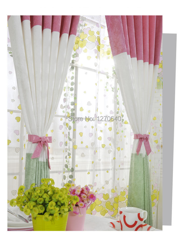 Free shipping korean design high quality thick fabric for Fabrics for children s curtains