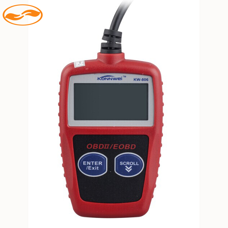 GreenYi Wholesale 15Sets/Lot KONNWEI KW806 OBDII Code Reader Scanner OBD2 MS309 Data Tester Car Diagnostic Auto Scan Tool(China (Mainland))