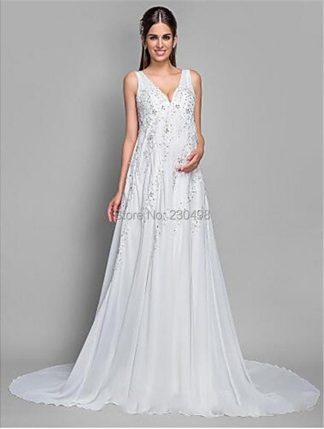 Vestido de noiva plus size maternity wedding dresses 2015 for Plus size maternity wedding dresses