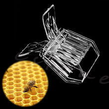 Plastic Queen Cage Clip Bee Catcher Beekeeper Beekeeping Tool Equipment(China (Mainland))