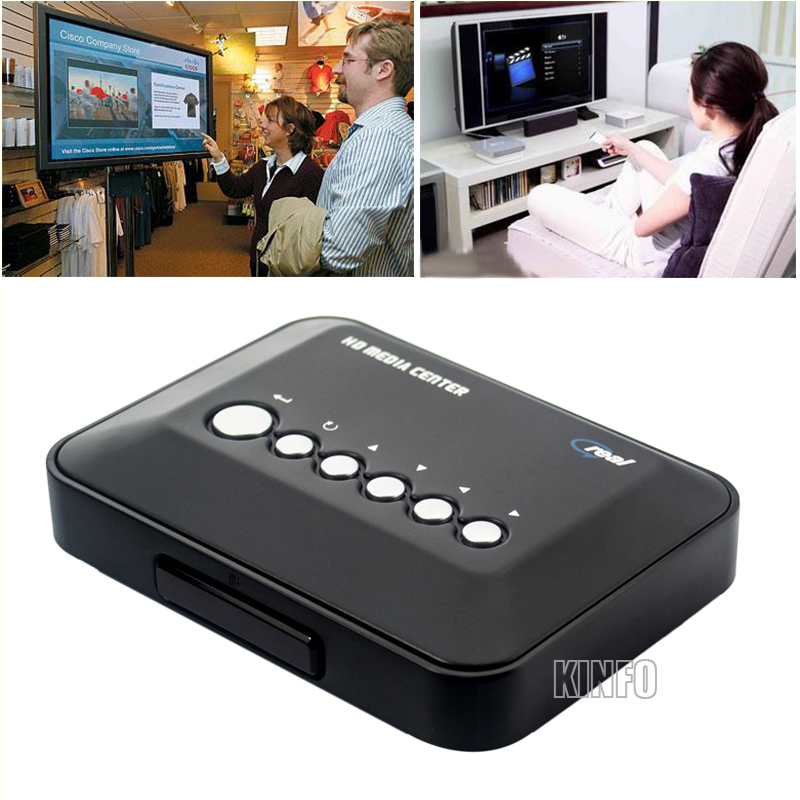 720P HD Media Center TV Real Media Player USB HDD/SD/MMC/MP4 HDMP01-H30(China (Mainland))