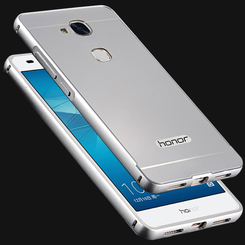 Hot For Huawei Honor 5C Metal Case Acrylic Back Cover & Aluminum Frame Set Phone Bag Cases for Huawei Honor 5C(China (Mainland))