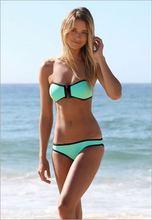 Hot Sale Women Bikini Set Sexy Low Waist Triangle Bikinis Strapless Swimsuit Push Up Swimwear