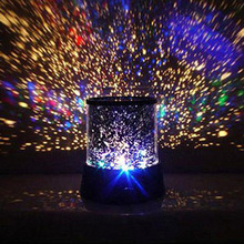 Buy New Amazing LED Colorful Star Master Sky Starry Night Light Projector Lamp Gift P0 for $3.17 in AliExpress store