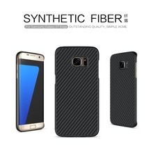 Nillkin for samsung s7 edge case Ultra Thin pc Cover Fiber PP Hard Back Cover For samsung galaxy s7 edge Shell pc case silicone(China (Mainland))