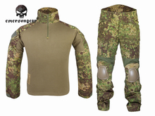 Buy Emersongear Gen2 Combat Shirt&Pants elbow knee pads Airsoft Tactical Gear Hunting Uniform BDU EM6978 Greenzone GZ for $104.80 in AliExpress store