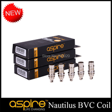 Original Aspire New Nautilus BVC Coil Mini Nautilus BVC Coil Heads Core Replacement Bottom Vertical BVC Coils 5pcs/lot