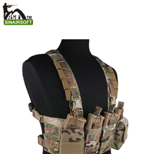 EMERSONgear Chest Rig Multicam Vest Airsoft Painball Military Army Combat Gear EM7450 MC/AOR1/AOR2/(China (Mainland))