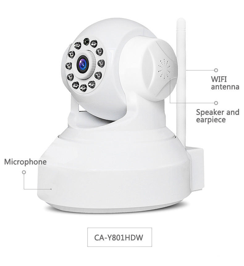 IMIEYE Real HD 720P Wireless Wifi IP Camera CCTV Security P2P PTZ Max 64G TF Card Onvif Alarm Motion Detection IR Night Vision