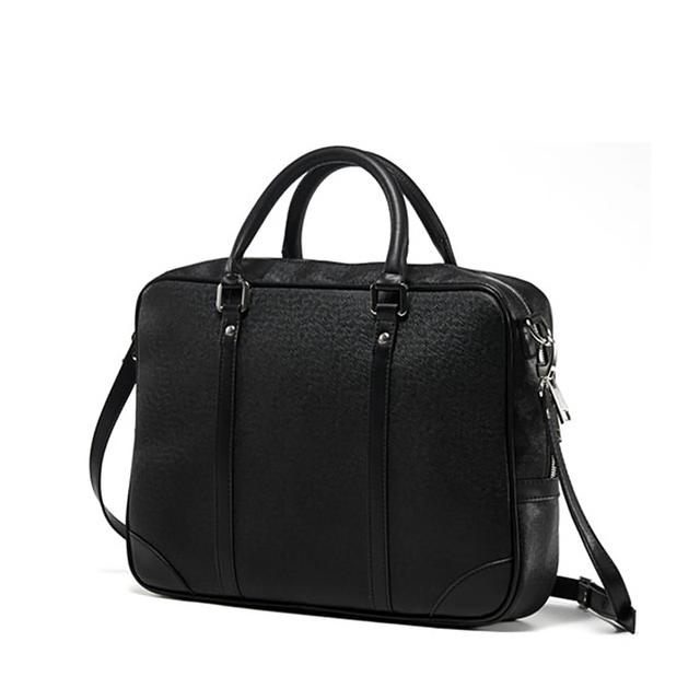 Новый стиль vintage мужская портфели с длинным поясом, высокое качество pu кожаная ...