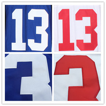 #13 Odell Beckham Jr Jersey #90 Hakeem Nicks Jersey Best Quality New York Football Jersey Authentic Elite Stitched Jerseys(China (Mainland))