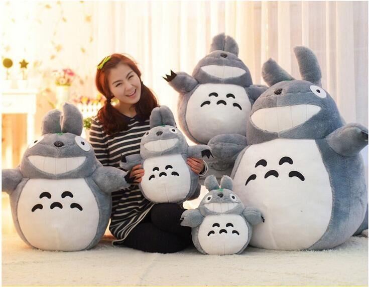 Fast Free shipping! 40-inch TOTORO Jumbo plush toys TOTORO giant loddy dolls 100cm Easter day gift Hayao Miyazaki(China (Mainland))