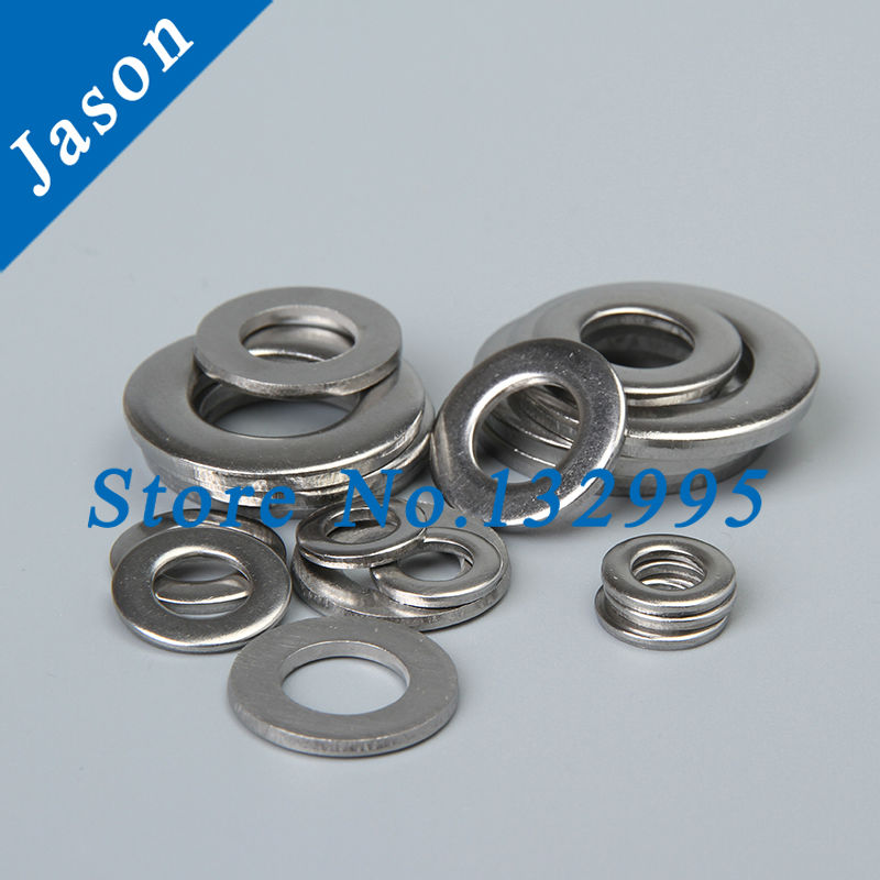M1.6   DIN125 Stainless Steel A2 Form A Washers (SUS 304 DIN125)<br><br>Aliexpress