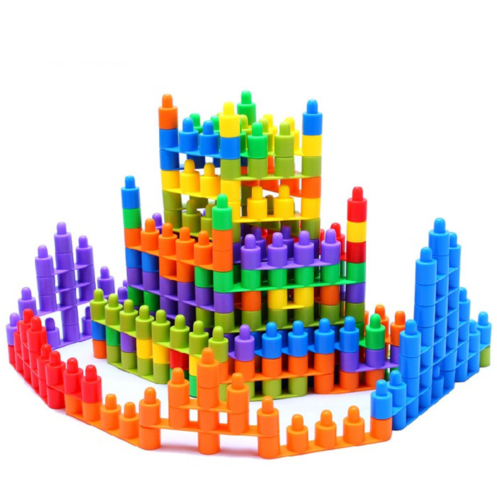Building Toys For 3 Year Olds : Children snowflake building blocks year old baby