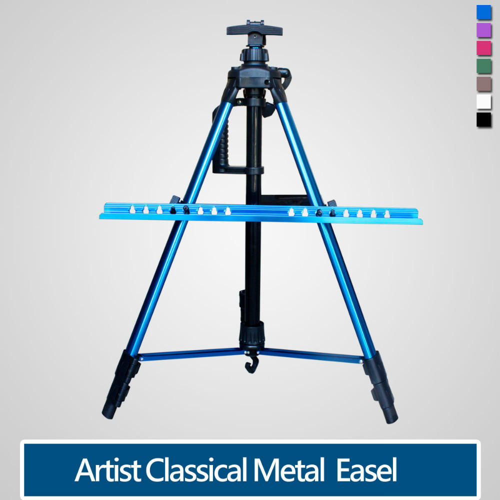 Adjustable Aluminium Artist Easel Telescopic With Bag ,suit for Oil painting,Sketch easel.High quality.<br><br>Aliexpress