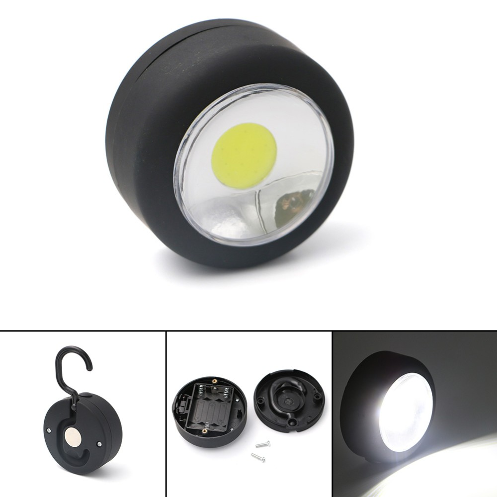 Magnet Hanging Lamp Mini Pocket Portable Bright LED Lightweight Lanterns Light For Hiking Camping Fishing Emergencies Outages