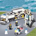 KAZI 6727 Police Station Building Blocks Bricks Children s educational toy building blocks Gifts for children