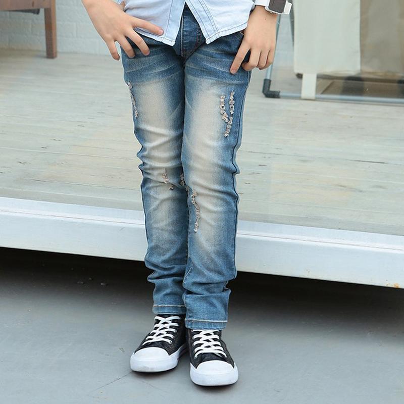 Free Shipping Retail Kids Jeans Boys Trousers 2016 Spring New Design Children Harem Pants Boys Pant Fashion Kids Wears(China (Mainland))