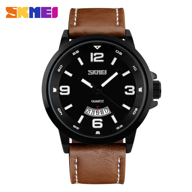 Fashion Luxury Brand Business Quartz Watch Men Sports Watches Analog Hour Date Clock Leather Army Waterproof Wristwatch Relogio<br><br>Aliexpress