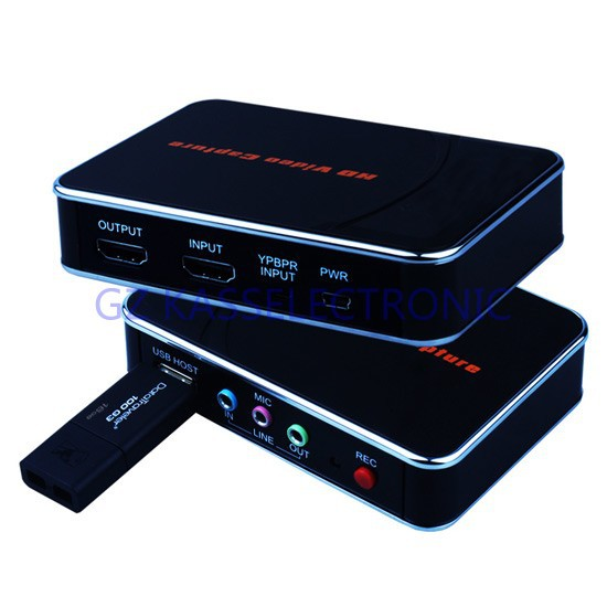 2015 new Capture Device USB, convert any HDMI YPbPr input to HDMI USB directly no computer required,1080P Free shipping(China (Mainland))