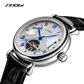 SINOBI Mens Automatic Mechanical Watch Tourbillon Males Skeleton Wrist Watches Quality Gift Box Wristwatches Relojes Mecanicos