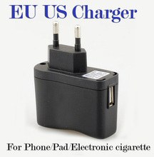 EU US wall charger ego ecig plug adapter travel charger e cig wall usb charger for electronic cigarette DHL