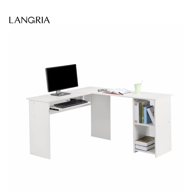 Online kaufen gro handel computer tastatur tisch aus china for Computer schreibtisch ecke
