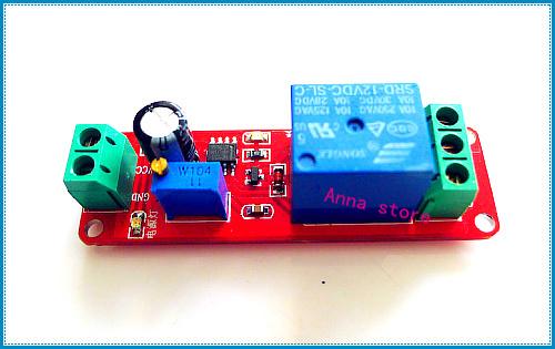 New 12V Delay Timer Monostable Switch Relay Module NE555 Car Oscillator