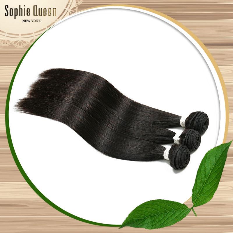 Rosa Hair Product Brazilian Virgin Hair Straight 7A Wet And Wavy Virgin Brazilian Hair 4PCS Milky Way Human Hair Weave Straight(China (Mainland))