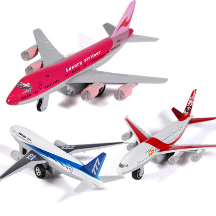 HOT Airlines A380 plane model International Airlines Airbus A380 aircraft 16cm metal simulation airplane model(China (Mainland))