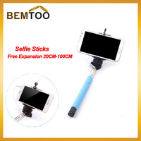 Selfie Stick with wire 100% Brand New Electronic Phone Camera Self-timer Tripe Lever Bracket Handheld Selftripod for