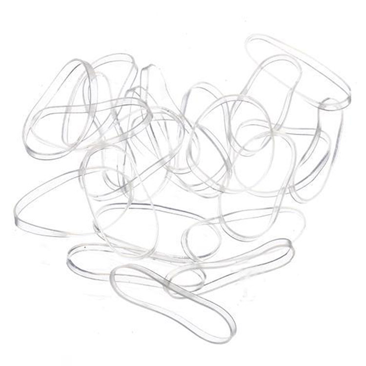 100pcs/pack Trendy Transparent Rubber Band Women Girls Elastic Hair Band Tie Rope Fashion Hair Accessories 0102(China (Mainland))