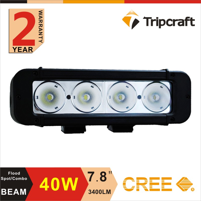 Hot sales! 7.8 Inch 40W LED Work Light Bar 12V 24V For ATV SUV 4WD 4X4 Boating Hunting Truck Tractor<br><br>Aliexpress