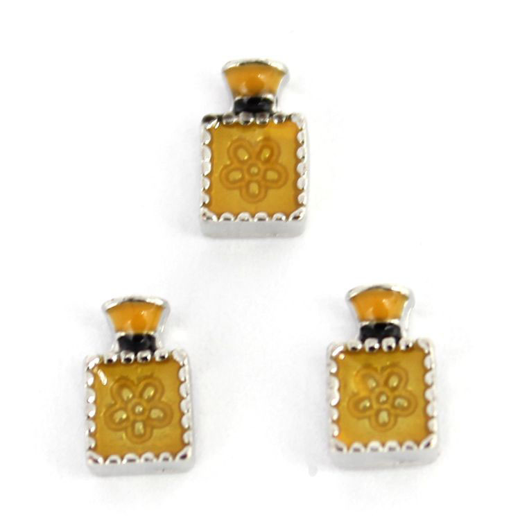 floating charm perfume bottle,locket charms for living lockets(China (Mainland))