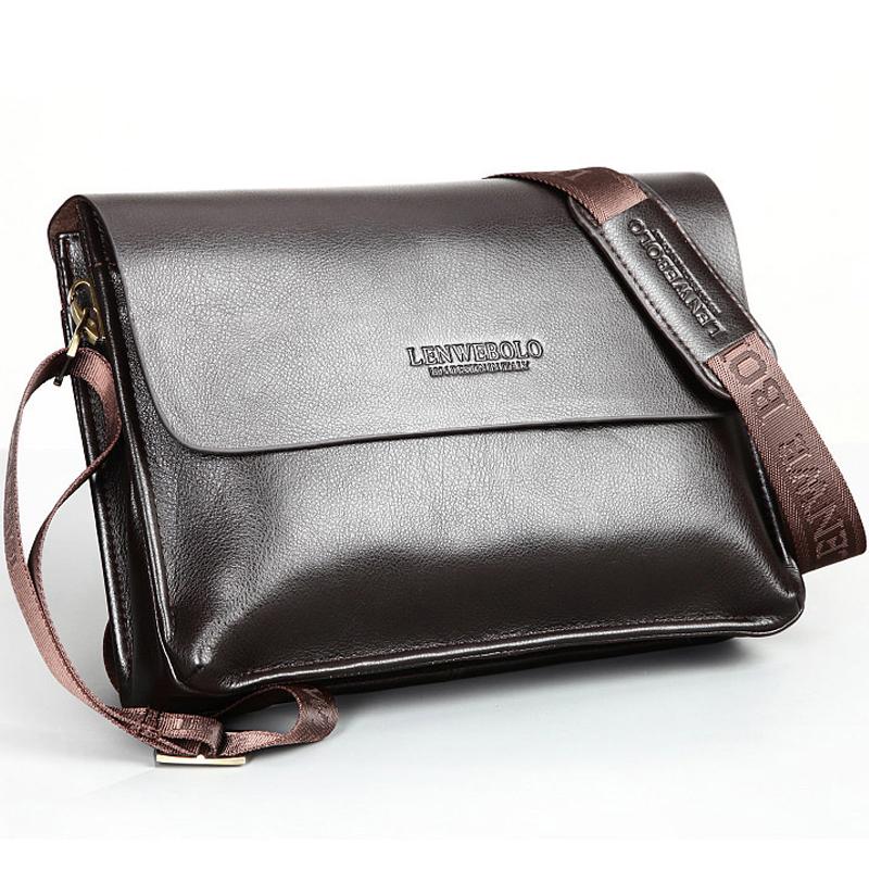 Men genuine leather messenger bag Small Men messenger bags Genuine leather Briefcase Solid Famous brand bag Briefcases 2016(China (Mainland))
